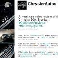 """Crisis de Chrysler en Twitter: ¿quién ha escrito ese maldito """"tweet""""?"""