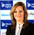 Raquel Castuera, directora de marketing y clientes de Grupo Liberty Seguros