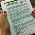 Una nota de prensa en forma de ebook comestible 