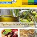 Gallina Blanca convierte su web en un medio gastronómico