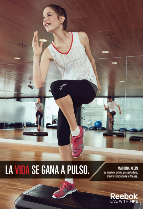 Campaña on y off de Reebok con prescriptores famosos - Noticia - Bienes Duraderos - MarketingNews.es
