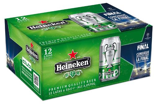 Heineken estrena su nueva campaña de la Champions League con novedades como un juego online - Noticia - Gran Consumo - MarketingNews.es