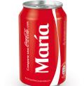 Coca-Cola pone nombre a 550 millones de envases