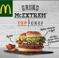 La nueva hamburguesa de McDonald's se cocinó en 'Top Chef'