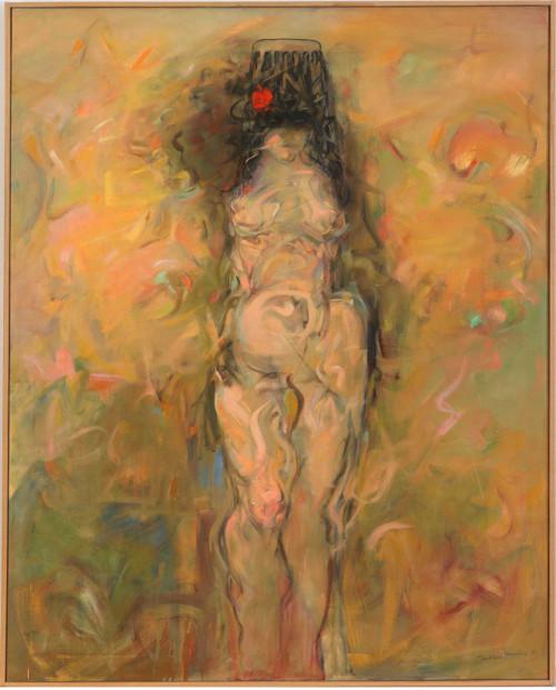 'Women Artist, Nude, Standing' (1985-1987)