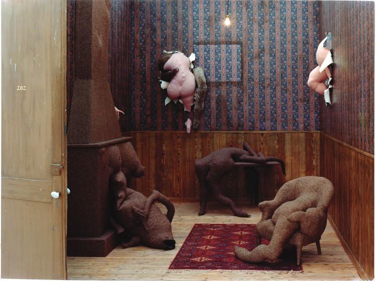 Instalación 'Chambre 202, Hotel du Pavot' (1970-1973)