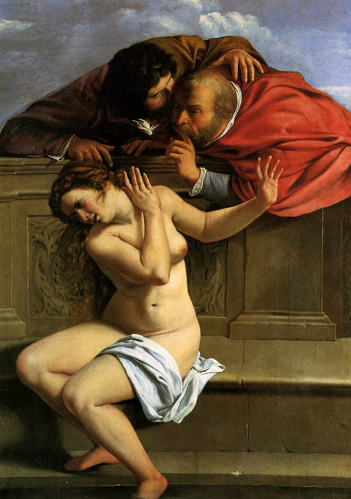 'Susana y los viejos' (1610)