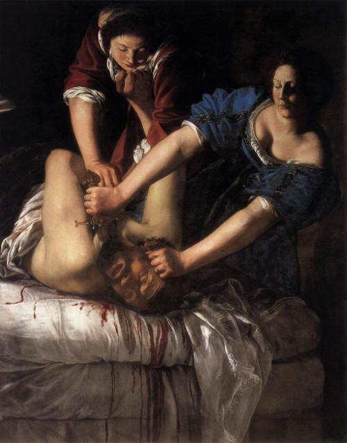 'Judith decapitando a Holofernes' (1612-13)