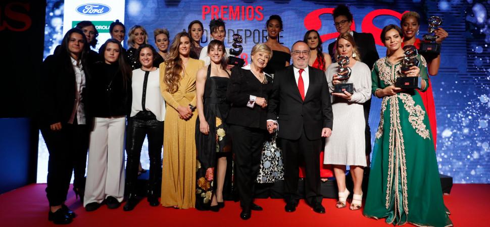 Las reinas del deporte español