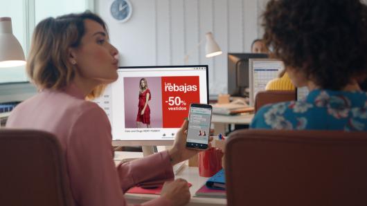 La web de El Corte Inglés fue el segundo marketplace donde más compraron los internautas en las pasadas rebajas