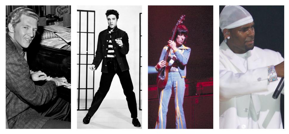 De Elvis a R. Kelly: la larga lista de estrellas de la música acusadas de pederastia