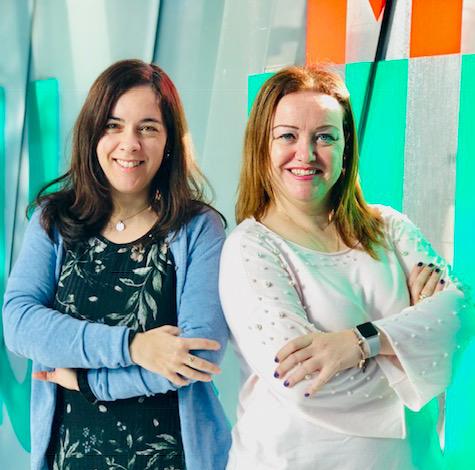 Raquel García Revilla y Olga Martínez Moure