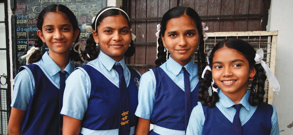 Girl: un proyecto español para educar a las niñas de los 'slums' de Bombay