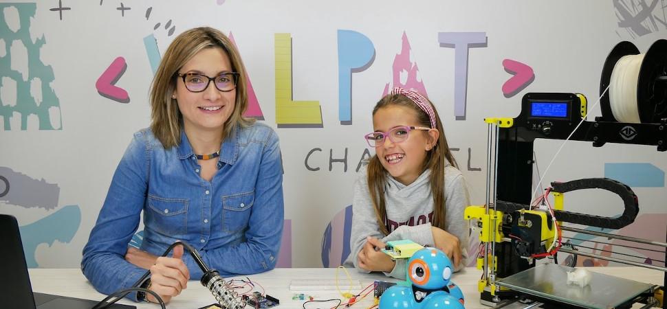 La ingeniera española de 10 años que se ha propuesto interesar a otras niñas en la tecnología