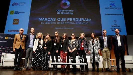 Los participantes en la octava edición del Observatorio de Branding