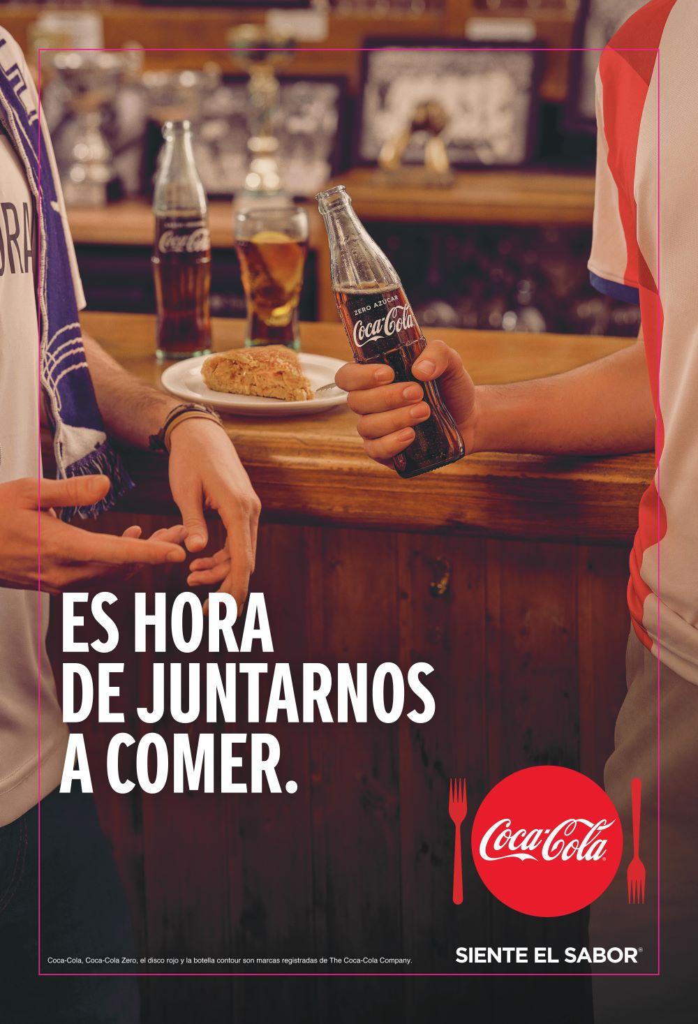 La campaña quiere unir a las personas a través del consumo