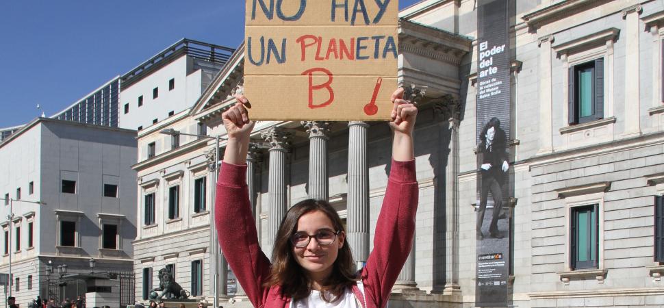 """""""Sin planeta no habrá nada que defender"""""""
