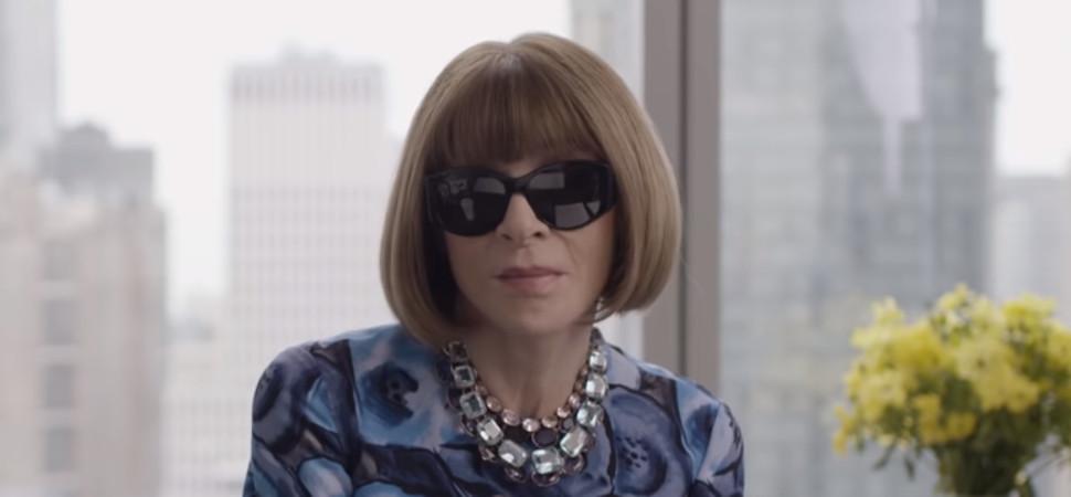 Anna Wintour desvela el secreto para vestir en las entrevistas de trabajo