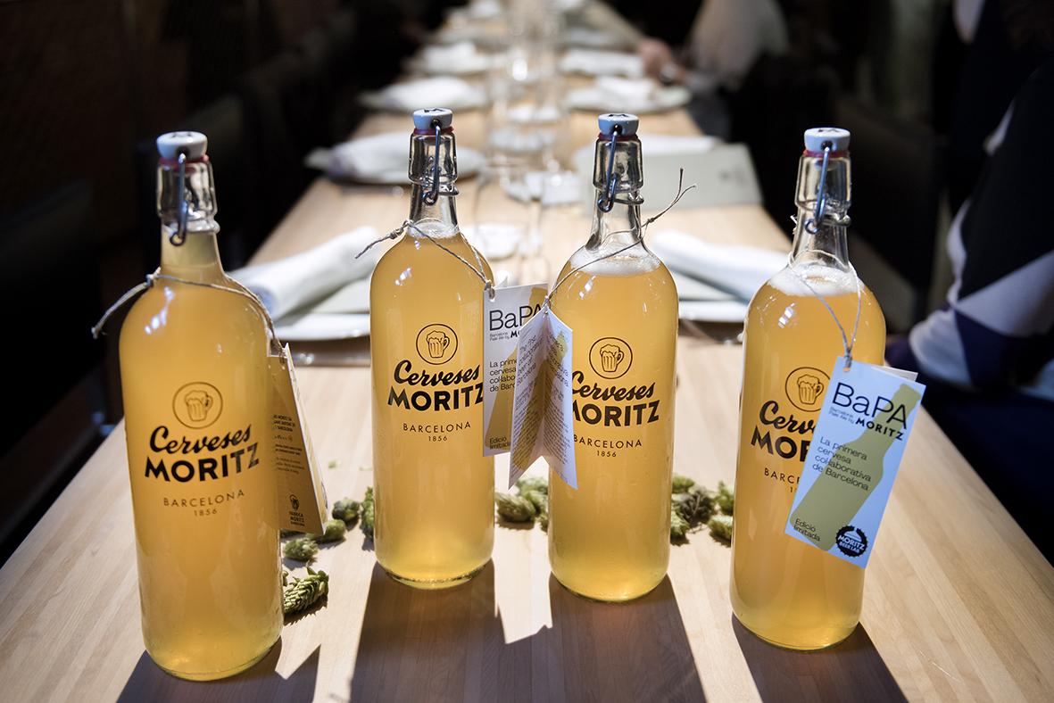 La cerveza colaborativa de Moritz