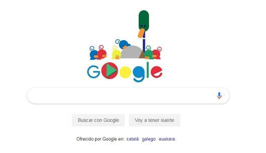 El 'doodle' que le dedica hoy Google al Día del Padre