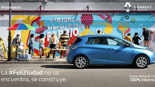 """Imagen de la campaña """"FeliZiudad"""", de Renault"""