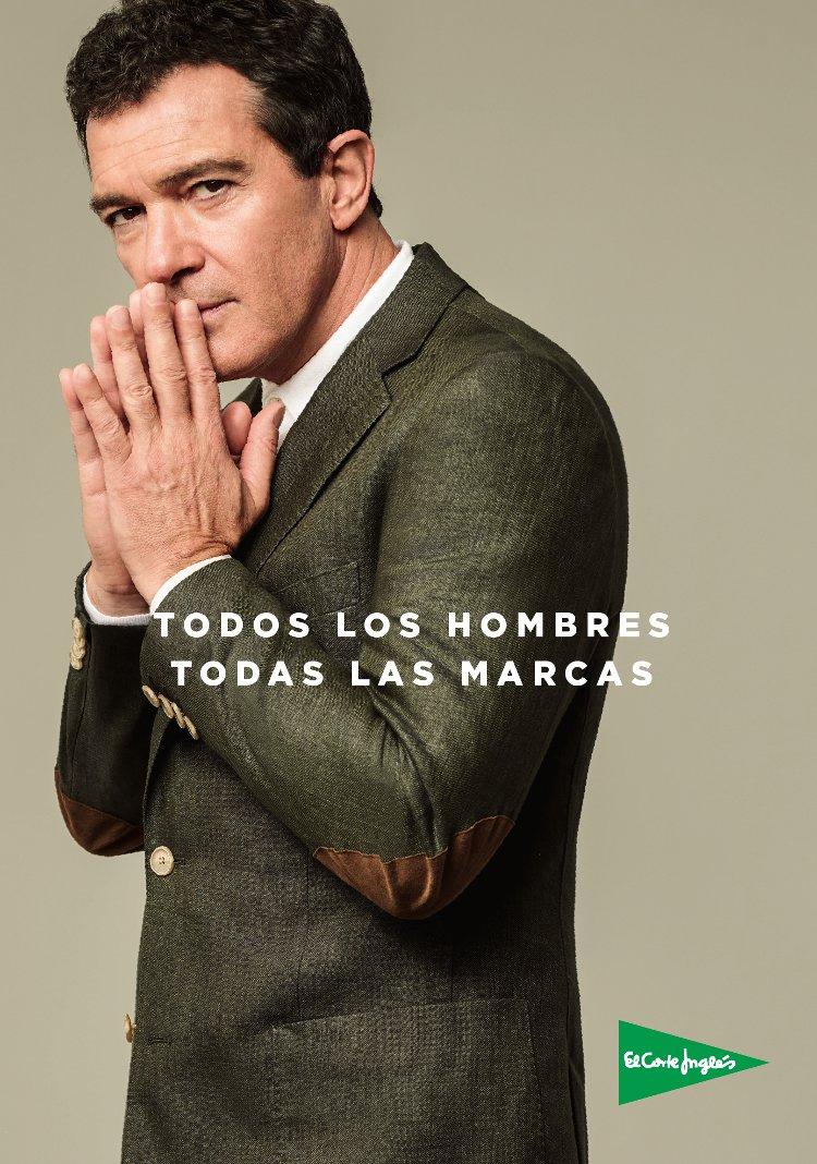 Antonio Banderas para El Corte Inglés