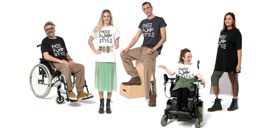 Moda inclusiva para personas con discapacidad