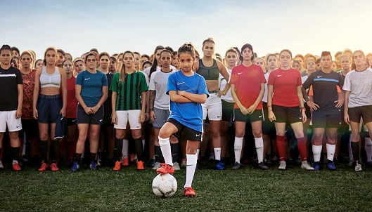 Imagen de una campaña reciente de Nike