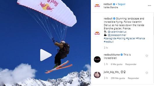 Perfil de Instagram de Red Bull