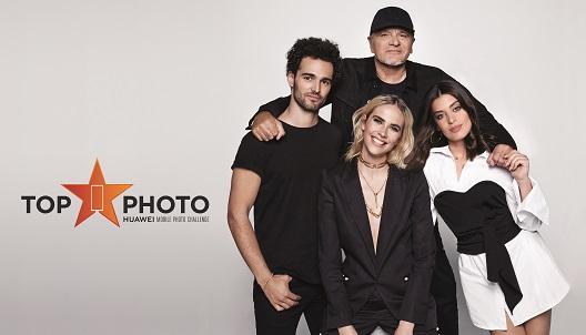 La presentadora del programa Brisa Fenoy, junto con el jurado, formado por José Manuel Ferrater, Aida Domènech (Dulceida) y Gonzaga Manso.