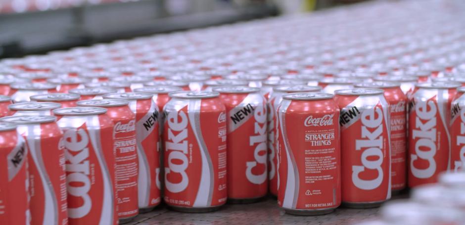 El rojo de la lata de New Coke no es el mismo que el actual