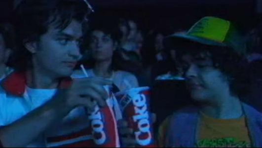 """Una escena del spot de Coca-Cola y Netflix anunciando la tercera temporada de """"Stranger Things"""""""