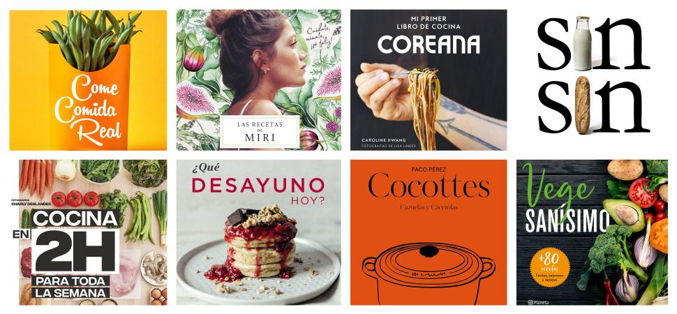 Ocho libros que te darán nuevas ideas en la cocina