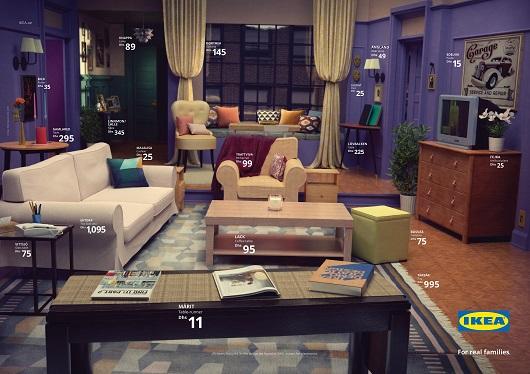 El salón de Friends