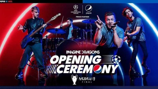 Imagine Dragons actuará en la final de la Champions