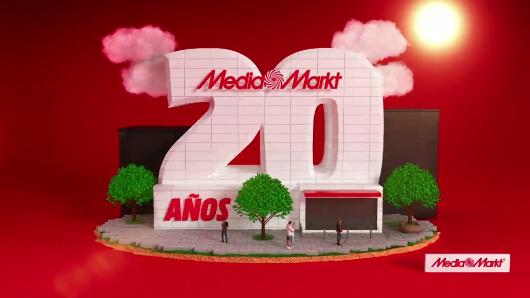 Campaña del 20 aniversario de MediaMarkt