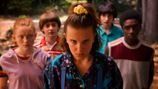 'Stranger things', una de las series estrella de Netflix