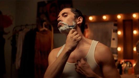 Imagen de una campaña de Gillette