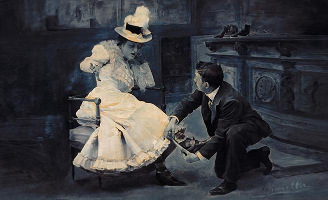 'Medidas exactas' (1900), de Madame Gironella.