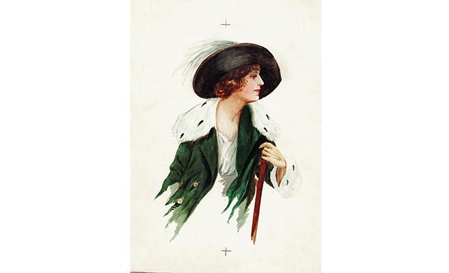 'Mirando a lo lejos' (1918), de María Nueve-Iglesias.