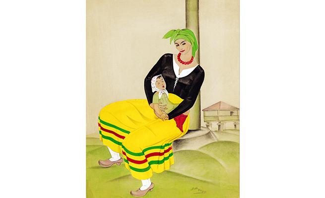 'Madre gallega' (1935), de Delhy Tejero.