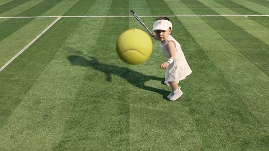 La tenista española Garbiñe Muguruza aparece en el spot de Evian