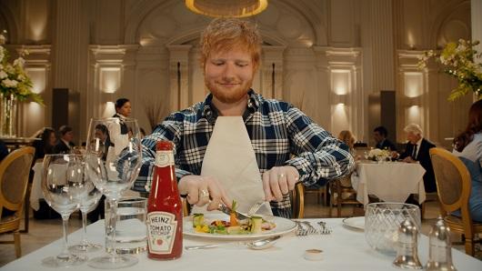Imagen de una campaña de Heinz