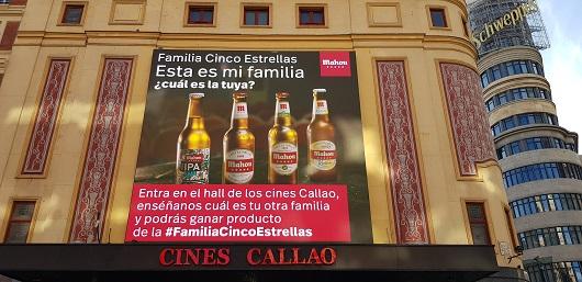 La acción se realizó en Callao City Lights