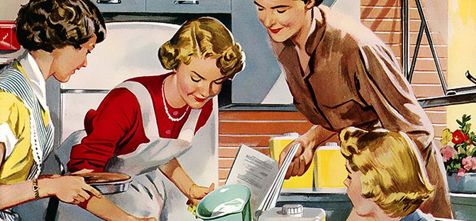 """""""Ha habido mujeres que lo único que escribieron en su vida fueron recetas"""""""