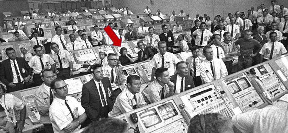 Las mujeres que llevaron al hombre a la luna