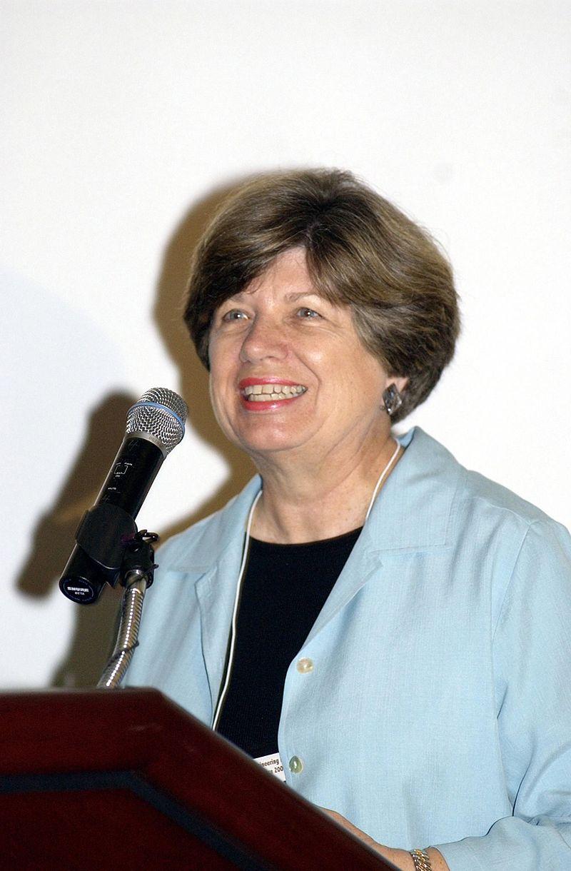 Morgan, en el Centro Espacial Kennedy,  en el año 2002.