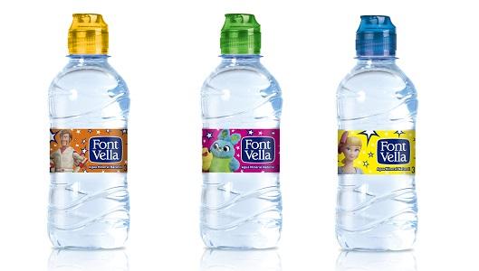 Algunas de las nuevas  botellas