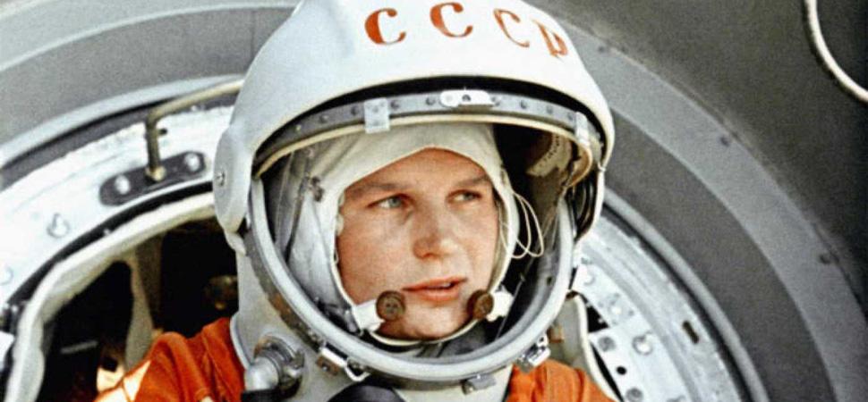 Los estadounidenses llevaron al primer hombre a la luna, pero los soviéticos enviaron a la primera mujer al espacio