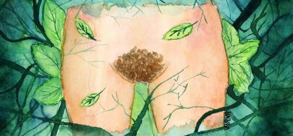 'Ahí abajo': el libro ilustrado que explora la sexualidad femenina sin tapujos